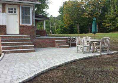 hardscape walkway patio