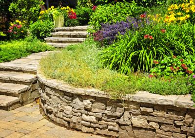 landscaping stone walls orangeburg