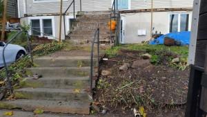 outdoor stairway before orangeburg